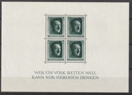 Deutsches Reich Block 7 ** - Unused Stamps