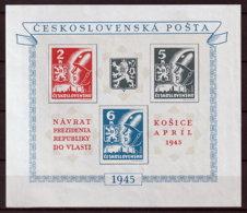 Tschechoslowakei Block 6 ** - Ungebraucht