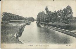 Carte-Postale LANGRES Les Bords Du Canal - Langres