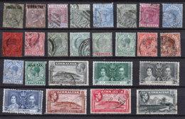 Gibraltar Lot - Alla Rinfusa (max 999 Francobolli)