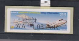 ****  Exposition Philatélique Vélizy-Villacoublay 2019   (40)  25/45 - 2010-... Illustrated Franking Labels