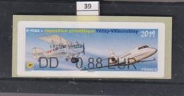 ****  Exposition Philatélique Vélizy-Villacoublay 2019   (39)  25/45 - 2010-... Illustrated Franking Labels
