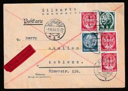 Deutsches Reich Beleg - Usados