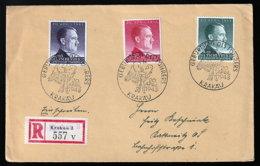 Generalgouvernement 101/3 Auf FDC - Ocupación 1938 – 45