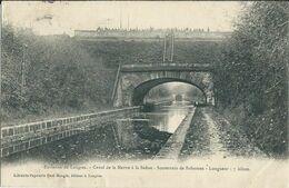 Carte-Postale LANGRES Canal De La Marne à La Saône - Langres