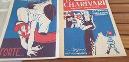 CHARIVARI 37/ MARIANNE RALPH SOUPAULT JOUHAUX / DELONGRAYE  HITLER GUILLAUME 2 /COCARDE INSIGNE BRAVES GENS - 1900 - 1949