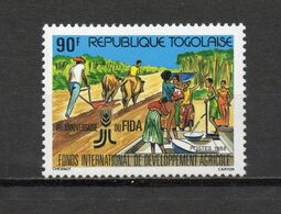 TOGO N° 1227   NEUF SANS CHARNIERE COTE  1.10€     AGRICULTURE  FIDA - Togo (1960-...)