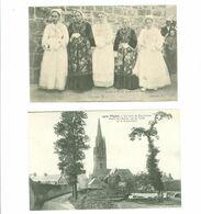 29 - PLOARE - Lot De 2 Cartes ...(Abside De L' Eglise --  Jeunes Filles De Ploaré) - Frankreich