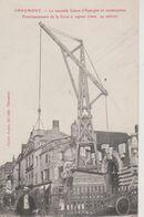 52 - CHAUMONT - CONSTRUCTION DE LA CAISSE D'EPARGNE - GRUE A VAPEUR - Chaumont