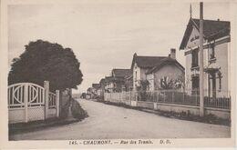 52 - CHAUMONT - RUE DES TENNIS - Chaumont