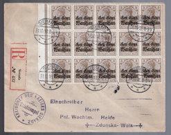 Polen 7 (25x) Auf Brief - Bezetting 1914-18