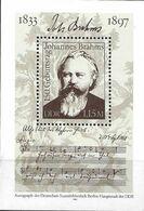 DDR 1983 ** Johannes Brahms 150 Jaar - [6] Democratic Republic