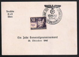 Generalgouvernement Beleg - Ocupación 1938 – 45