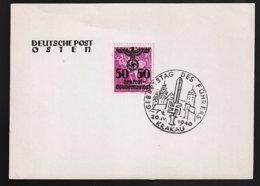 Generalgouvernement 96/100 Auf FDC - Ocupación 1938 – 45