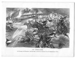 Invitation1968 - Commémorant La Charge De L'escadron De Gironde En 1914,   Dim 16 X 12 Cm - Announcements