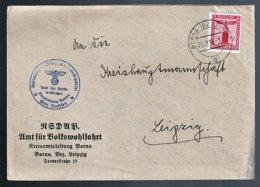 Deutsches Reich Dienst Beleg - Dienstpost