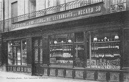 14 - BAYEUX - Entrepôt De Vins Et Eaux De Vie LEFRANCOIS Dit ACCARD 30 - Devanture De Commerce 1911 - Bayeux