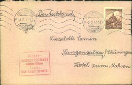 """1941, Brief Aus Dem """"KLV -Lager LUKASCHOWITZ, Böhmen Und Mähren - Seltener Brief, Sonst Meist Karten - Covers"""