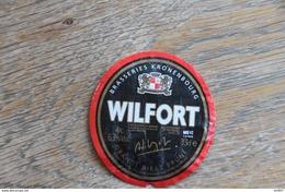 ETIQUETTE BIERE, WILFORT - Beer