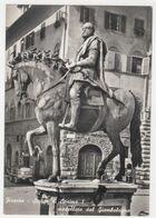 ITALY, FIRENZE , STATUE OF COSIMO  - I VON GIAMBOLOGNA MODELLIERT,  POSTCARD - Firenze
