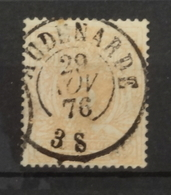 COB 28a Avec Belle Oblitération Concours Double Cercle Audenarde - 1884-1891 Leopold II