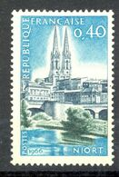 Neuf Gomme D'origine Sans Charnière - 1966 - Y&T 1485 (Mi 1547) NIORT EGLISE SAINT ANDRE - (1) - Nuovi