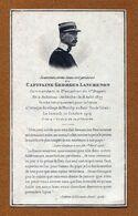 Capitaine LANCRENON, 11ème Dragons - IMAGE RELIGIEUSE - PIEUSE MILITAIRE  1914 - Documents