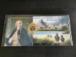 FRANCE POCHETTE EMISSION COMMUNE 2015 FRANCE-ILE MAURICE YT N° 54 ** SOUS BLISTER - Blocs Souvenir