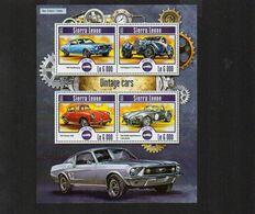 SIERRA LEONE 2015 - VINTAGE CARS - MNH (1G0215) - Sierra Leona (1961-...)