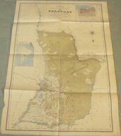 Carte Du PARAGUAY - 1 / 2 500 000ème - 1889. - Geographical Maps