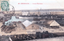 50 - Manche - CHERBOURG - Arsenal Maritime - Cherbourg