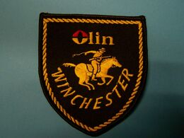 Ecusson Tissus - Olin  WINCHESTER - Armes - Tir - Patches