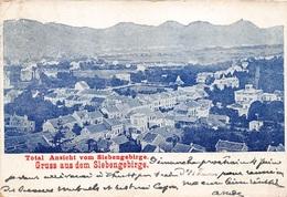 CPA Gruss Aus Almagne Total Ansicht Vom Siebengebirge Gruss Aus Dem Slebengebirge M 4576 - Gruss Aus.../ Grüsse Aus...