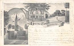 CPA Gruss Aus Almagne Gruss Aus Homberg  Kirche    M 4584 - Gruss Aus.../ Grüsse Aus...