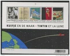 Blok 109 Tintin/Kuifke And De Moon ** - Blocks & Sheetlets 1962-....