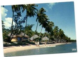 Moorea - Le Charme De L'Hôtel Moorea-Village Son Lagon Et Sa Plage De Sable Blanc - Polynésie Française