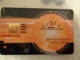 Latvia GSM/SIM Card ( Chip With Tape ) - Latvia
