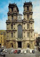 Rennes: Cathédrale Voitures: OPEL REKORD-B & C, MORRIS MINI TRAVELLER, RENAULT 8 & DAUPHINE, SIMCA 1300, CITROËN 2CV - Rennes