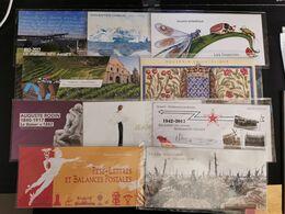 FRANCE BLOCS SOUVENIRS ANNEE COMPLETE 2017 YT N° 132 à 141 ** SOUS BLISTER - Blocs Souvenir