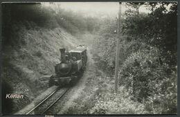 Photo Vilain - POC (Corrèze) - Loco Mallet N°103 En Tête D'une Rame, Ligne Treignac-Tulle - 1957 - Pente 24/4324 - Treni