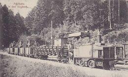 ( 99 ) - Vosges Vogesen  Feldbahn TRAM Carte  Allemande écrite 1° Guerre - Frankreich