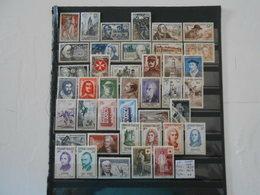 FRANCE ANNEE COMPLETE 1956 (YT 1050/1090)** - 1950-1959