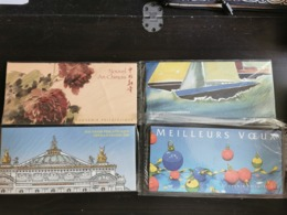 FRANCE BLOCS SOUVENIRS 2007 YT N° 16, 23, 24 Et 25 ** SOUS BLISTER - Souvenir Blokken
