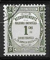 France Taxe N°43 - Oblitéré 1908-1925 - 1859-1955 Used