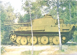 Tank Panther - Material