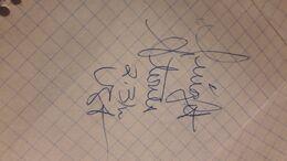 Athlétisme Autographe Sur Papier Dwight STONES (Saut En Hauteur) USA  JO Jeux Olympiques Montréal 1976 - Handtekening