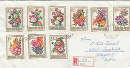 UNGARN 1965- Reko Brief Mit  MiNr: 2111-2119 Kompletter Satz - Hungary
