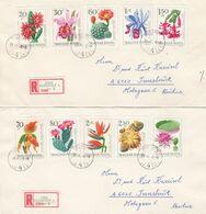 UNGARN 1965- Reko Briefe Mit  MiNr: 2164-2173  Kompletter Satz - Hungary
