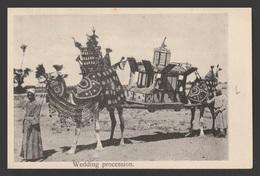 Egypt - Very Rare - Vintage Post Card - Wedding Procession - Egypt - 1866-1914 Khedivate Of Egypt