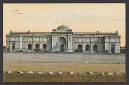 Egypt - Very Rare - Vintage Post Card - Egyptian Museum - Cairo - 1866-1914 Khedivate Of Egypt